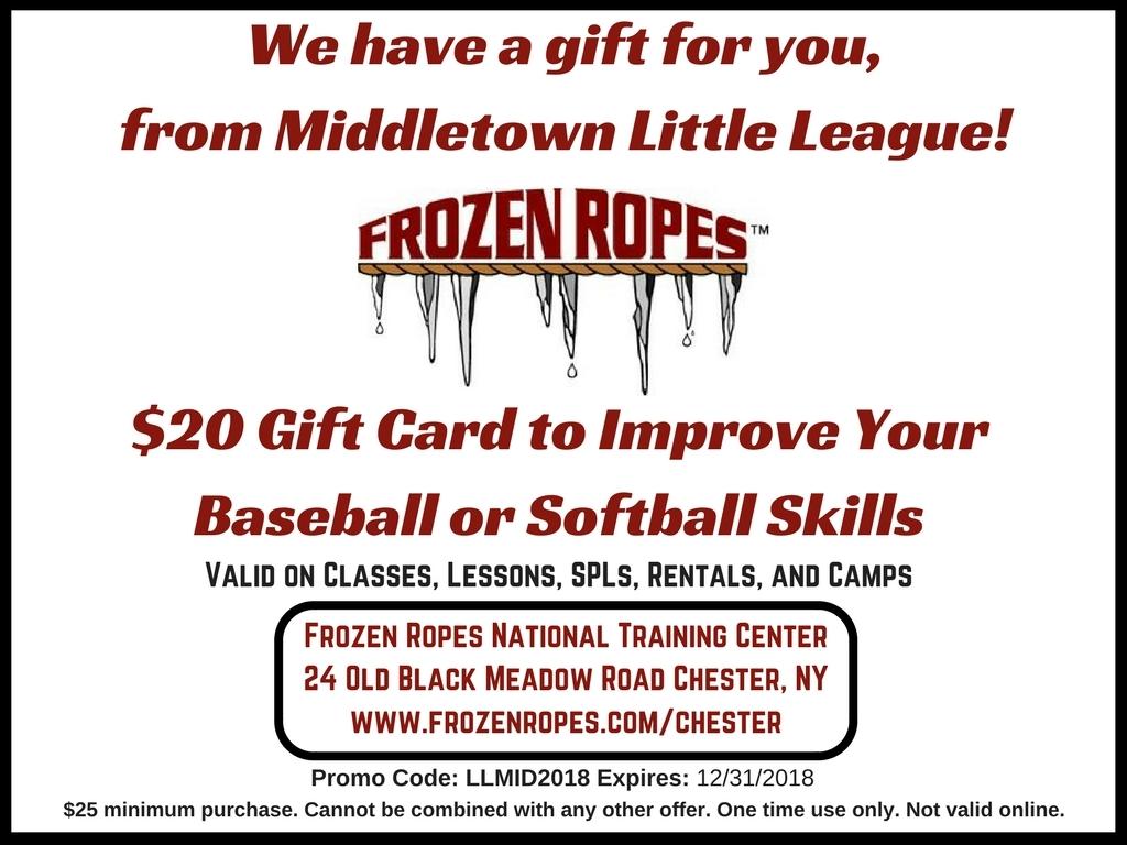 Middletown Little League 2018
