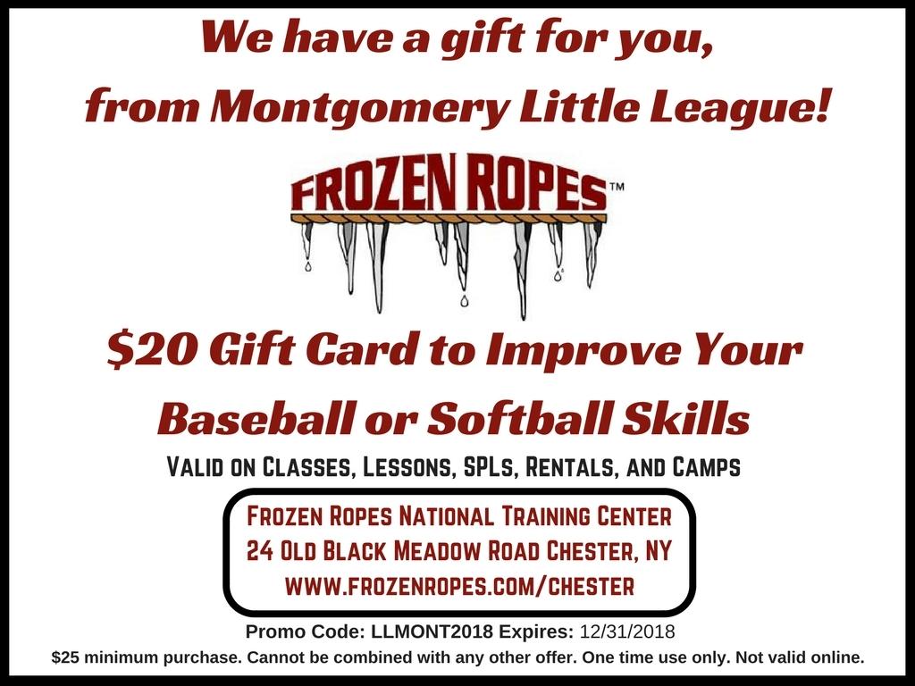 Montgomery Little League 2018