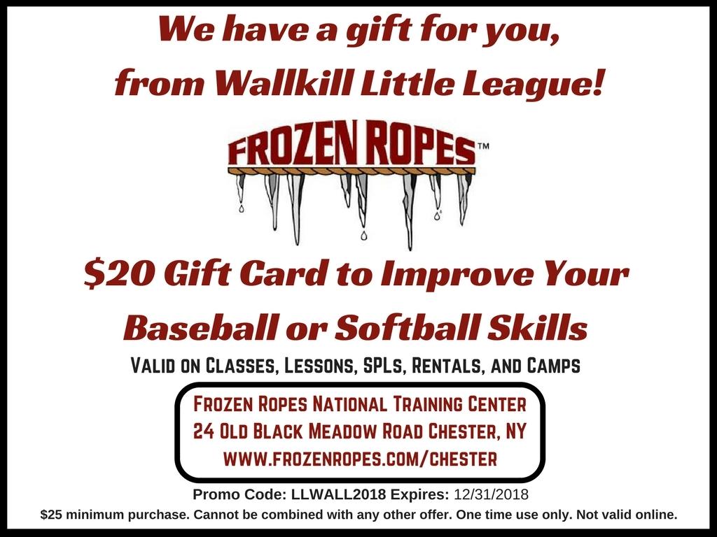Wallkill Little League 2018