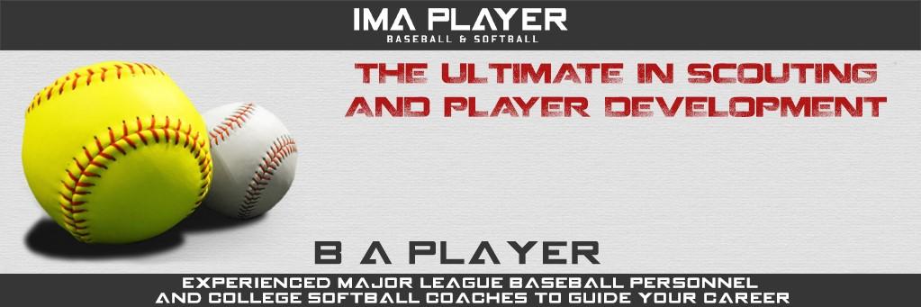IMA Player Baseball & Softball