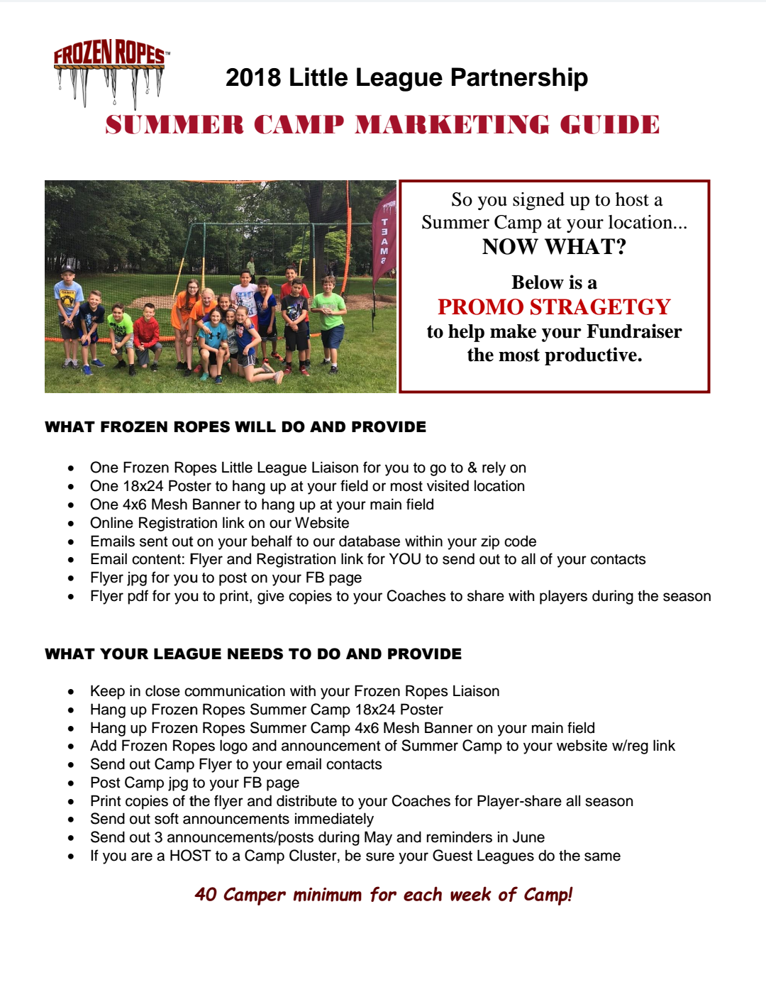 Summer Camp Marketing Guide