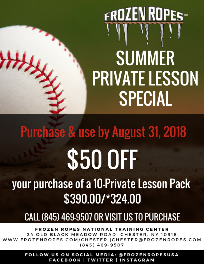 Frozen Ropes Summer Lesson Specials