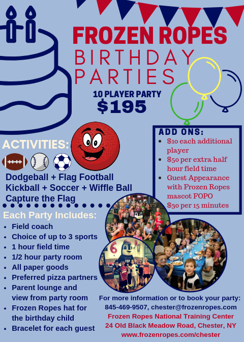 bday parties flyer png frozen ropes chester ny