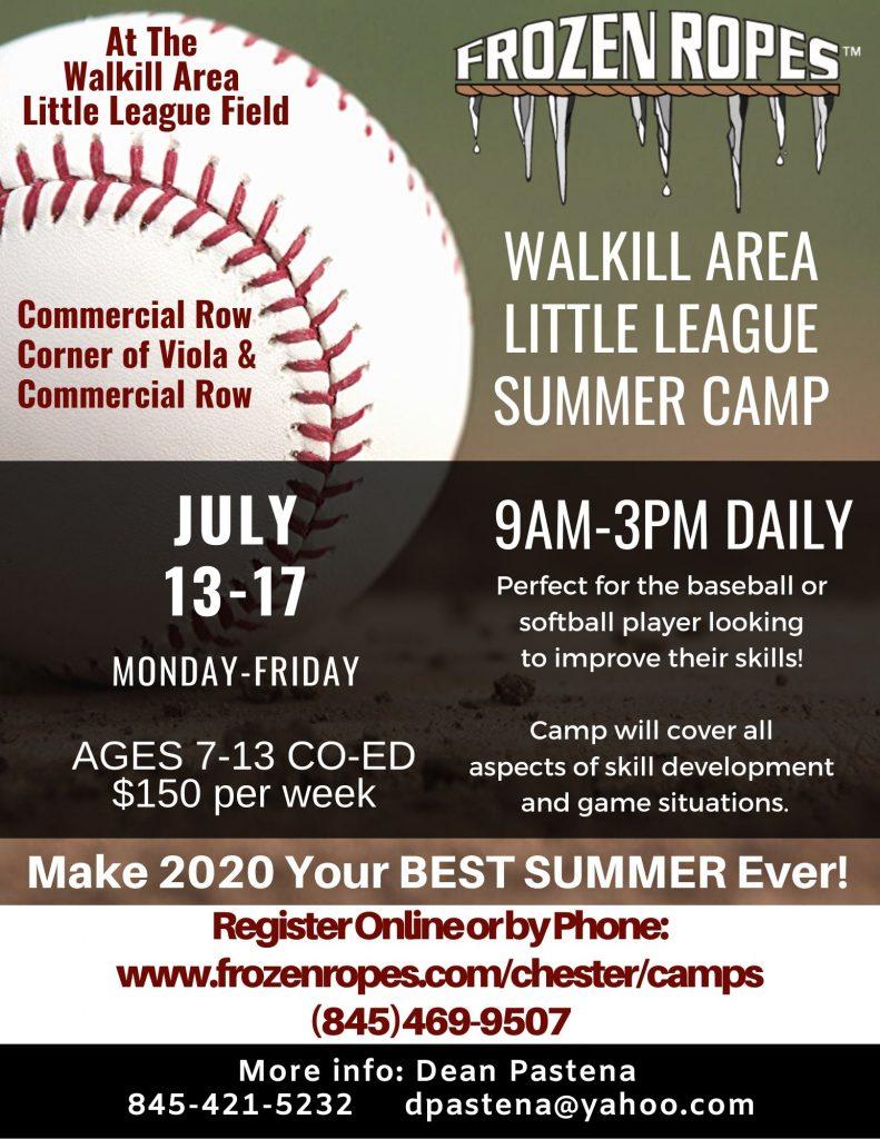 Frozen Ropes Summer Camp 2020