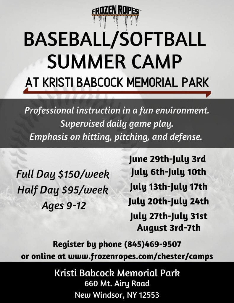 Frozen Ropes 2020 Summer Camps in New Windsor, New York