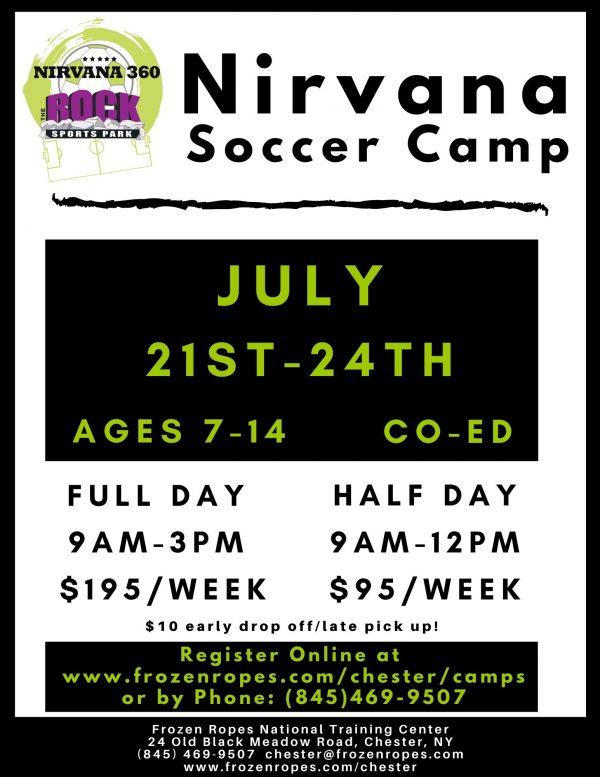 Frozen Ropes Summer Camp 2020 Soccer Nirvana Soccer Club