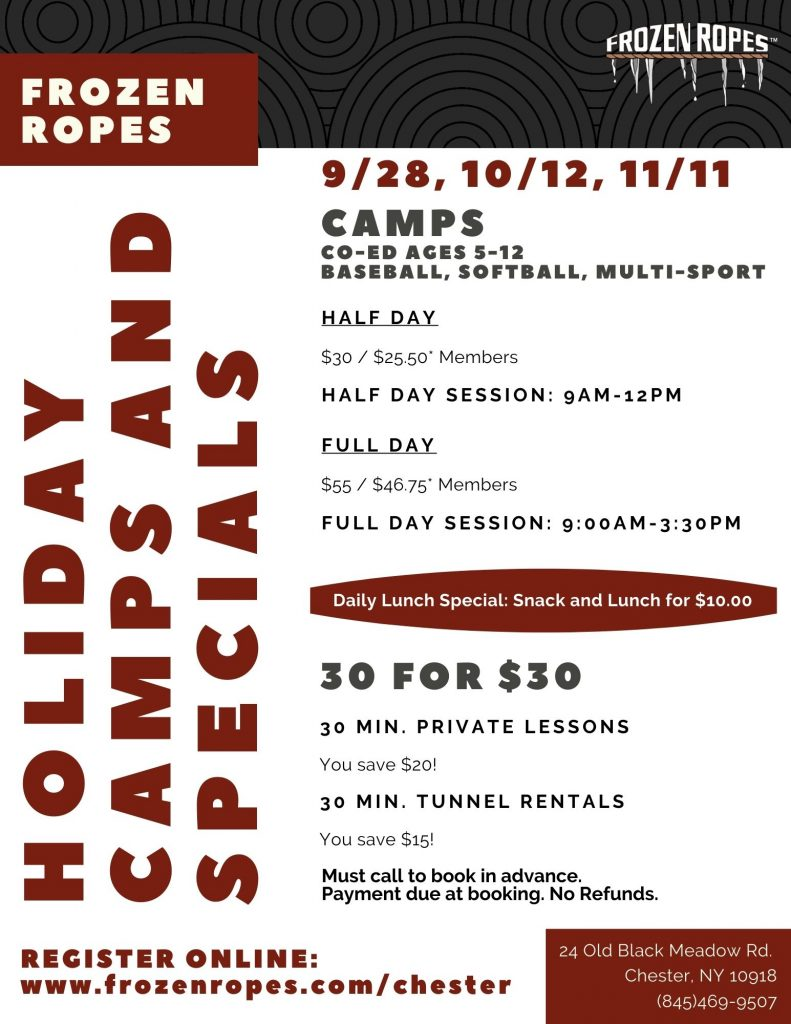 Frozen Ropes Holiday Camps